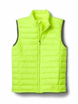 Gap ColdControl Lite neon quilted vest