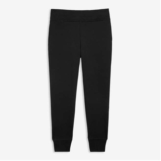 Joe Fresh Kid Girls' Fleece Joggers, JF Black (Size M)