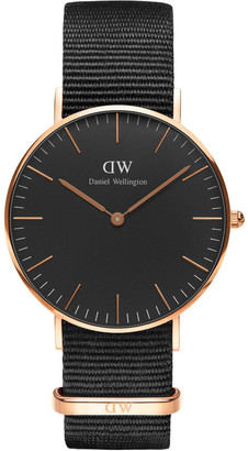 Daniel Wellington Classic Cornwall 36mm Rose Gold Watch