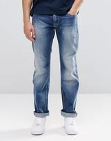 Pepe Jeans Pepe Hatch Slim Jeans E64 Mid Blue Distressed