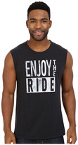 Life is Good Enjoy The Ride Muscle Tee