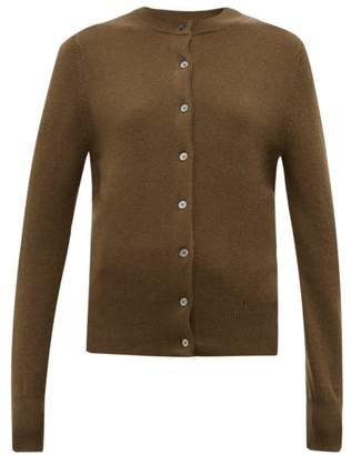 Extreme Cashmere - No. 99 Little Stretch-cashmere Cardigan - Womens - Brown