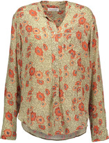 Etoile Isabel Marant Silena floral-print crepe de chine shirt