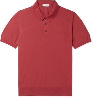 Etro Slim-Fit Cotton Polo Shirt