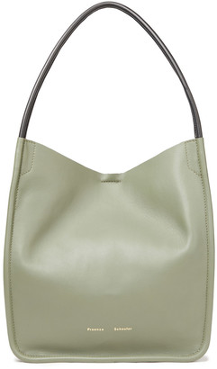 Proenza Schouler Super Lux Large Leather Tote