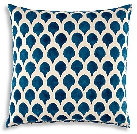 John Robshaw Nadole Peacock Decorative Pillow, 20 x 20
