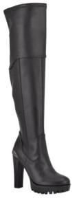GUESS Women's Taylin Narrow Dress Boots Women's Shoes