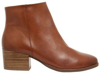 Sandler Vera Mid Brown Glove Boots Lt