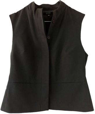 Hallhuber Khaki Cotton Top for Women