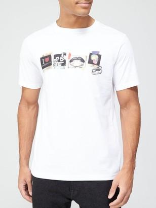 Paul Smith Photo Print T-Shirt - White