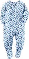 Carter's Floral Footie (Toddler) - Print - 5T