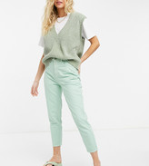 Thumbnail for your product : Reclaimed Vintage inspired 89' tapered jean in mint wash