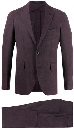 Tagliatore Straight Two-Piece Suit