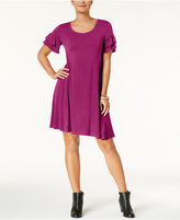 Style&Co. Style & Co Ruffle-Sleeve Dress, Created for Macy's