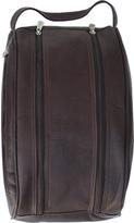 Piel Leather Double Compartment Travel Bag 9749