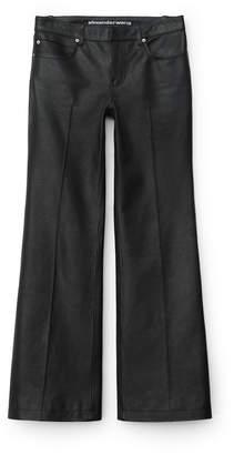 Alexander Wang Alexanderwang leather boot cut jean