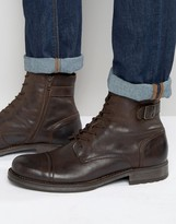 Jack & Jones Siti Leather Boots