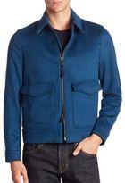 Burberry Cashmere Aviator Jacket