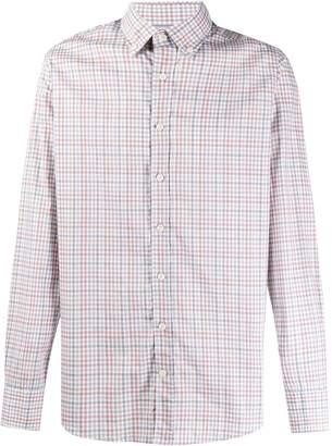 Hackett classic check pattern shirt