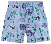 Vilebrequin Embroidered Cartoon Fish Trunks