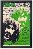 "Art.com Frank Zappa, Paramount Northwest, 1972"" Framed Art Print"