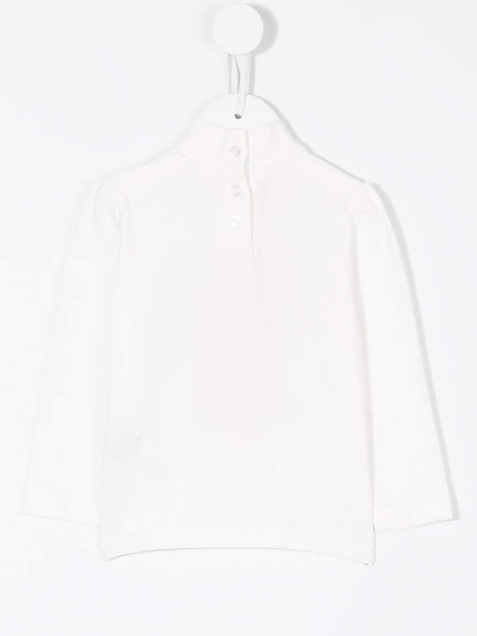 Miss Blumarine long sleeve printed blouse