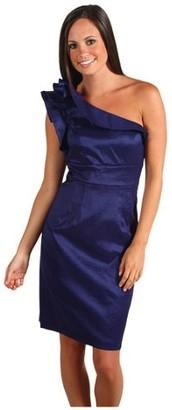 Eliza J Women's Plus Size Stripe Shift Dress