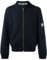 McQ by Alexander McQueen zip up hoodie - men - Spandex/Elastane/polyester/Polyamide-8 - 46