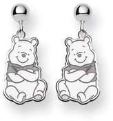Disney Sterling Silver Winnie the Pooh Dangle Post Earrings