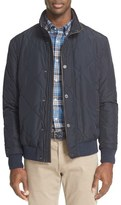 Paul & Shark Quilted Jacket with Leather Trim