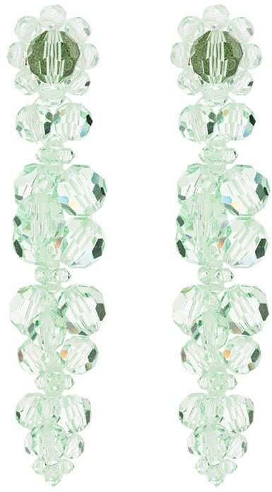 Thumbnail for your product : Simone Rocha Flower Drop Earrings