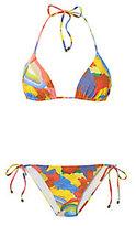 Missoni Swirl Tie Neck Bikini