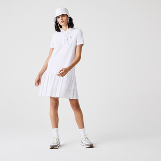 Lacoste Women's SPORT Roland Garros Pleated Polo Dress