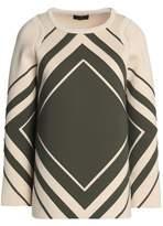 Anya Hindmarch Appliquéd Cotton-Scuba Top