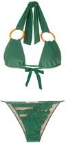 Adriana Degreas x Cult Gaia panelled bikini set