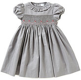 Edgehill Collection Baby Girls 3-24 Months Dotted Smocked Dress