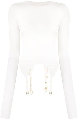 Dion Lee Garter Fine Knit Top