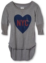 New York Local Pride by Todd Snyder Women's NYC Love Dolman Tee - Heather Gray