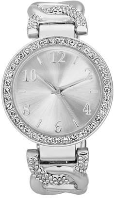 Charter Club Women Pave Cuff Bracelet Watch 37mm