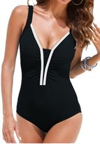 Upopby Women's Sexy One Piece Swimsuit Padded Monokini Bathing Suit Plus Size 4XL
