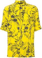 Haider Ackermann printed button-down shirt