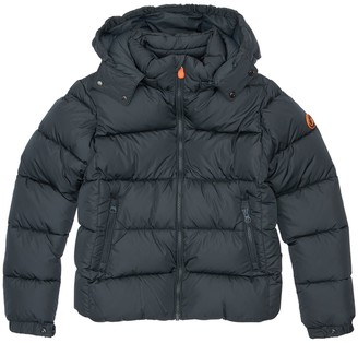 Save The Duck Hooded Nylon Down Jacket