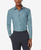 Perry Ellis Men's Big & Tall Non-Iron Long-Sleeve Shirt