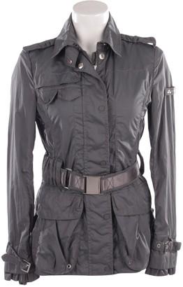 Peuterey Blue Cotton Jacket for Women