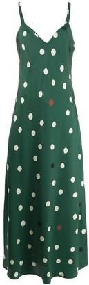 Parker Chinti & polka dot dress
