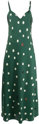 Chinti and Parker Polka Dot Dress