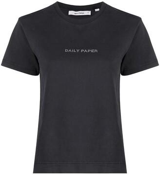 Daily Paper Hostan logo-print cotton T-shirt
