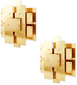 Jonathan Adler Puzzle Sconce Bundle
