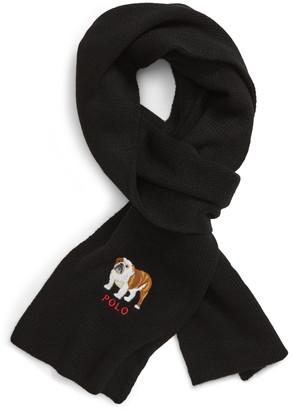 Polo Ralph Lauren Bulldog Scarf