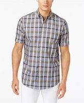 Club Room Men's Plaid Shirt with Pocket, Only at Macy's
